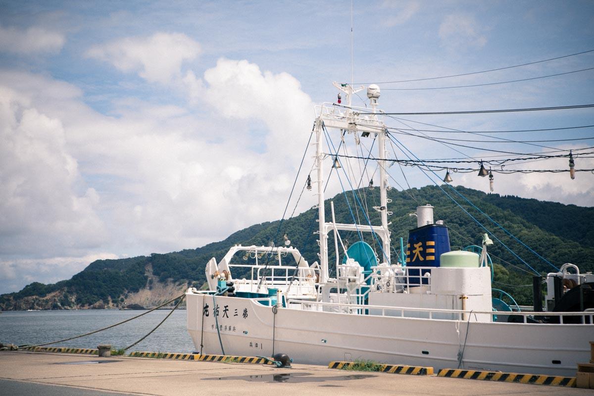 津居山漁港