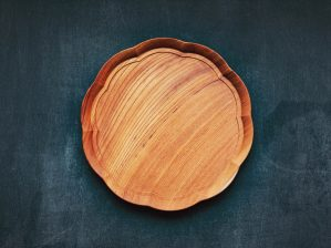 輪花盆 中 四十沢木材工芸