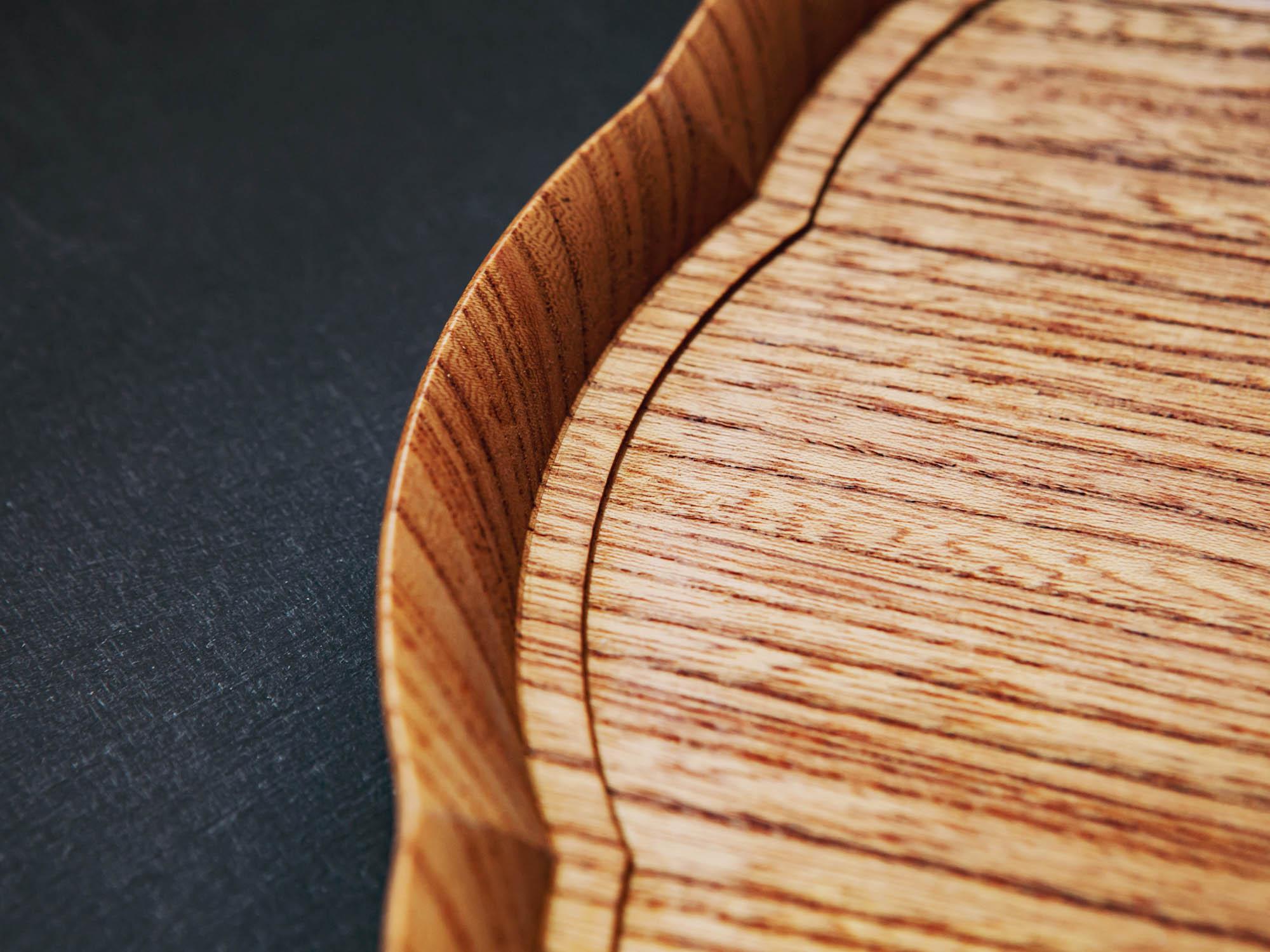 輪花盆 四十沢木材工芸