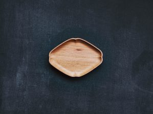 KITO 小皿 隅入菱 小 四十沢木材工芸