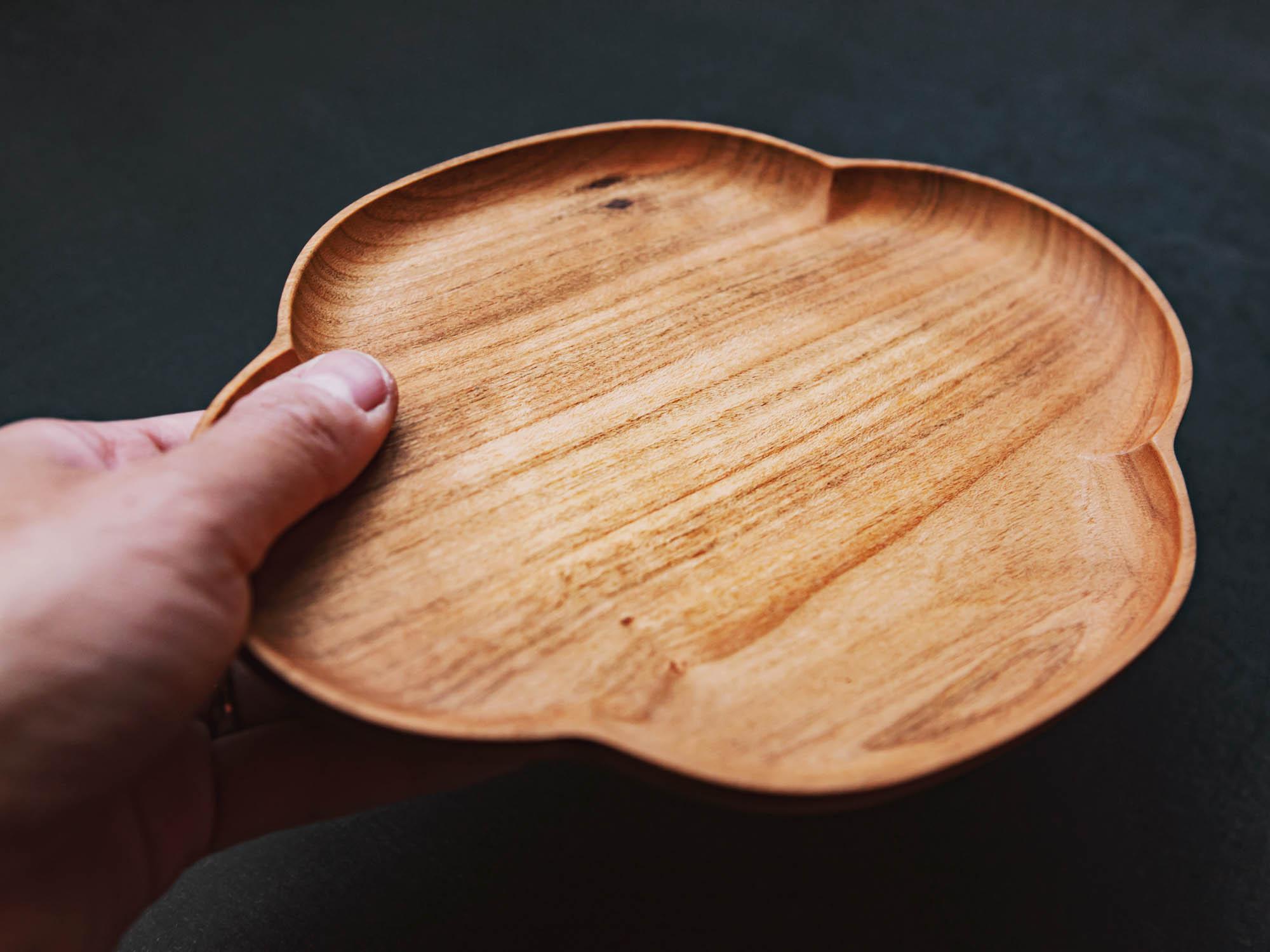 KITO 小皿 木瓜 四十沢木材工芸