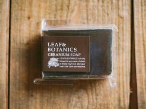 松山油脂 LEAF&BOTANICS マザーソープ ゼラニウム