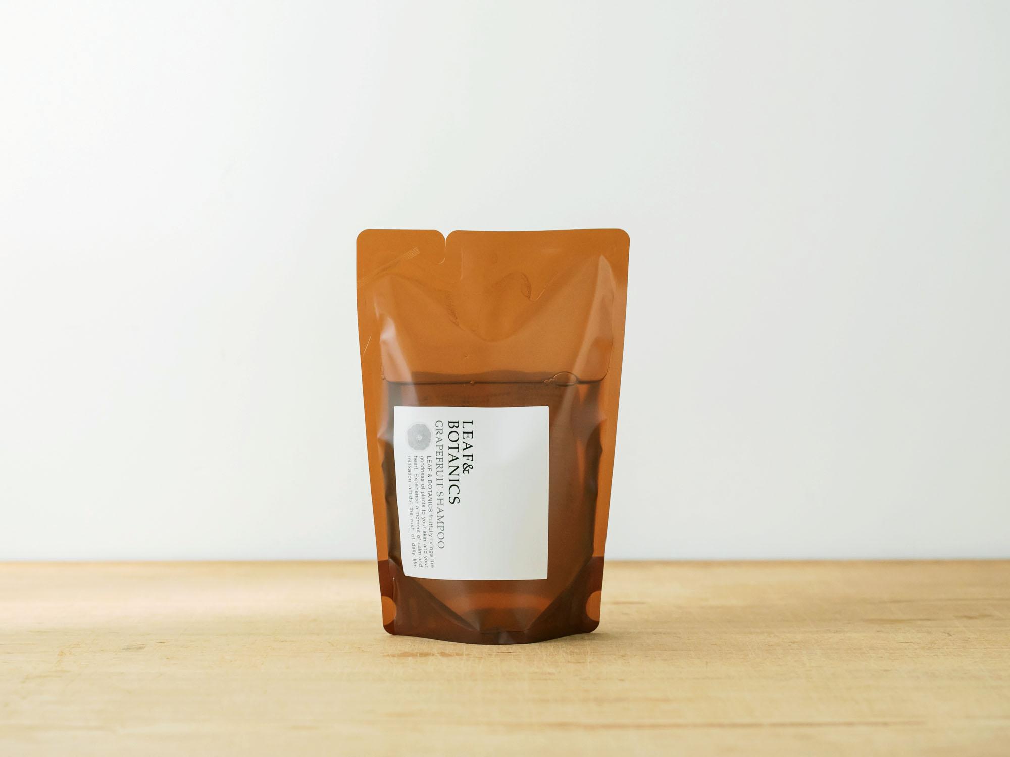 松山油脂 LEAF&BOTANICS シャンプー グレープフルーツ