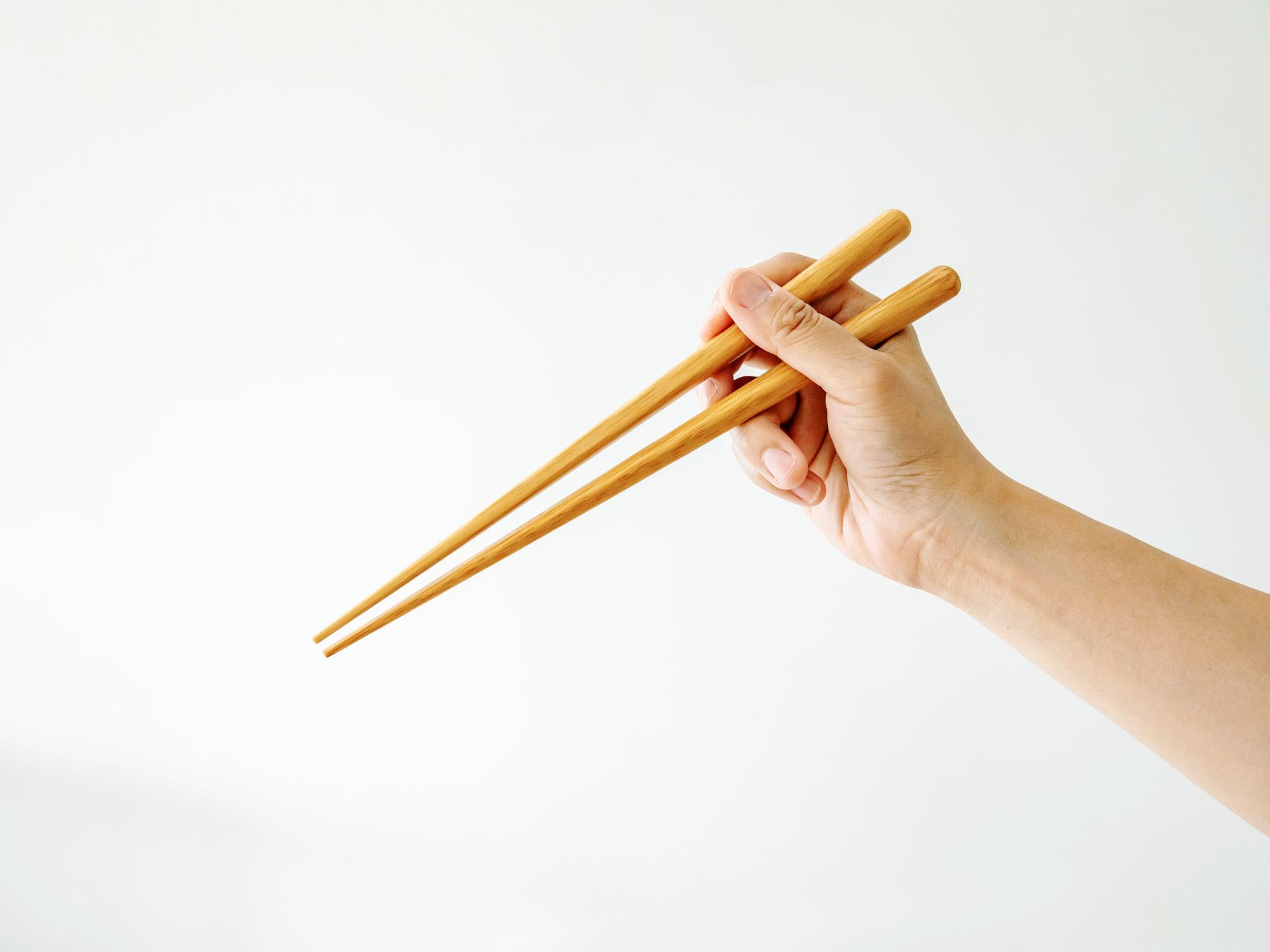 ヤマチク 新がんこ箸24㎝(食洗機対応)