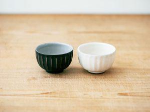 椀(ソギ 粉ひき・黒泥)/南景製陶園