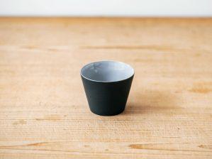 碗 円錐(黒練・白練)/南景製陶園